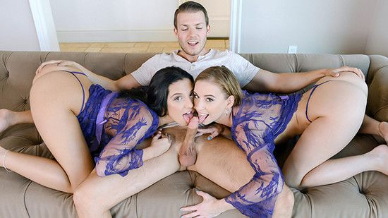 [StepSiblings] Norah Nova, Selena Stone – Teamwork Makes the Cream Work