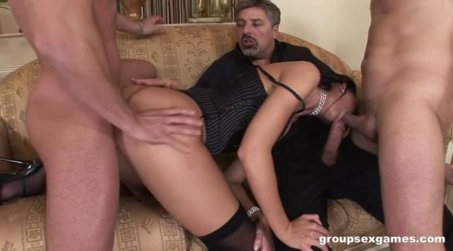 [GroupSexGames] Susie Diamond – Lusty Slut Banged Cocks By 3