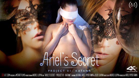 [SexArt] Ariel Piper, Fawn Katana, Suzie Carina – Project 1 Katana